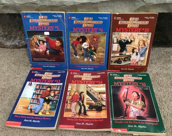 The Baby-sitters Club Paperback Books by Ann M. Martin Lot of 6