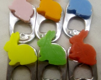 Easter Bunnies Can Markers / Charms