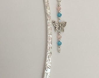 Beautiful Crystal Butterfly Bookmark