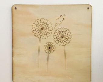 Whimsical Dandelion