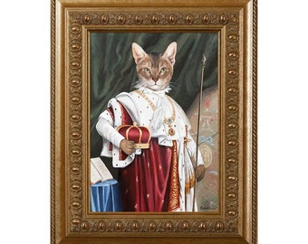 Cat Art Lover, Magnet, Cat Mom, Cat Gift Ideas, Cat Print Dress, Cat Lady Gifts, Alex