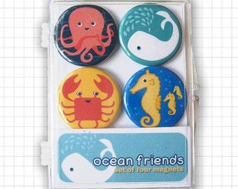 Ocean Friends Magnet Set