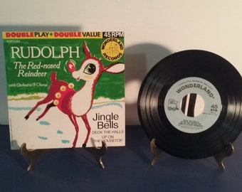The Sandpiper Chorus and Orchestra - Rudolph The Red-Nosed Reindeer - Circa 1966 - 45RPM