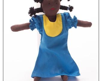 "Akinyi Waldorf Style 10"" Pocket Doll"