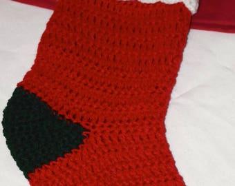 Handmade Christmas Stocking -