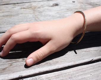 Stacking Bangle Bracelet / Brass Bracelet / Women's Jewelry / Bangle Bracelet