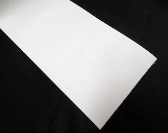 "6"" inch white elastic 15cm Wide stretchband, stretch waistband, belting, Knitted Elastic Trim 5yd for 24.00"
