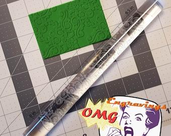 Damask 765-149 Rolling Pin