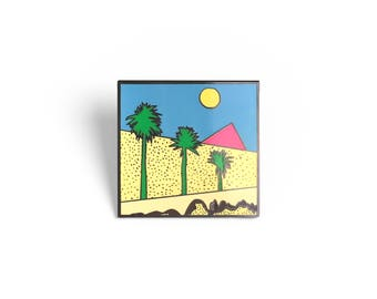 Boys Don't Cry The Cure Enamel Pin