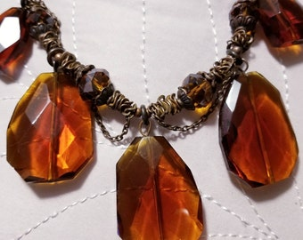 Bold Stone Necklace