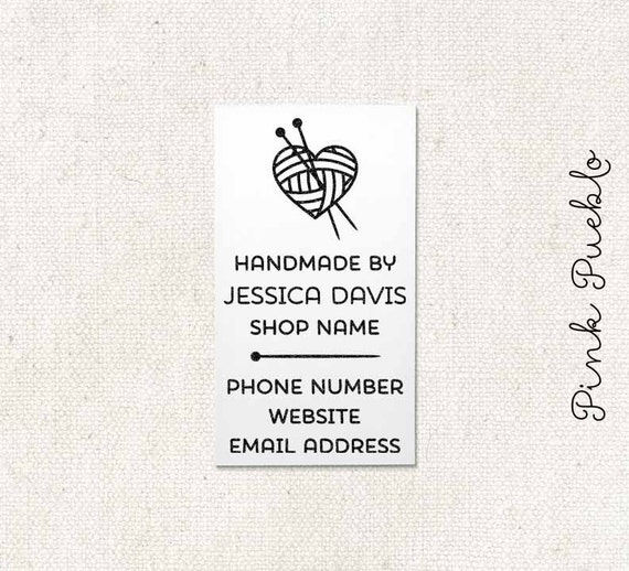 Personalized business card rubber stamp knitting business card personalized business card rubber stamp knitting business card stamp from pinkpueblo2 on etsy studio colourmoves