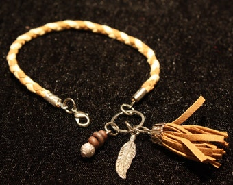 Charm Bracelet Braided