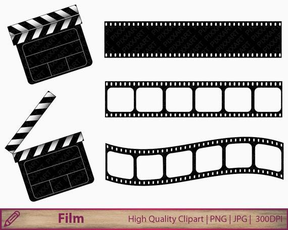 movie clipart film clapperboard clip art film strip clipart rh etsystudio com film strip clipart free download film strip clipart free