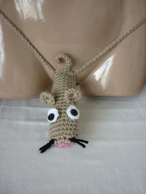 Crochet Sexy Mens Thong Men Thongs String Handmade-6563