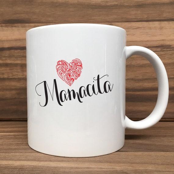 Coffee Mug - Mamacita (with Heart) - Double Sided Printing 11 oz Mug