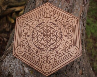 Conscious Particle Crystal Grid