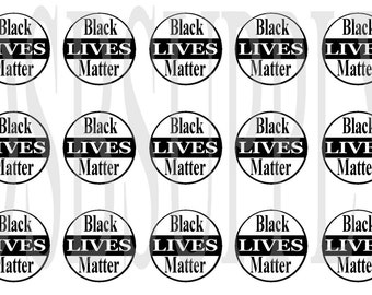 """Black Lives Matter BCI, Black Lives Matter, African American BCI, Ethnic BCI, 1"""" Image, Bottle Cap Image"""