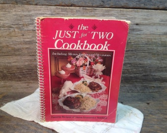 Vintage Just for Two Cookbook/Menus/Favorite Recipes of Home Economics Teachers