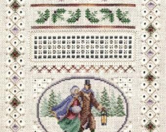 Miniature Winter Sampler - Teresa Wentzler Cross Stitch Pattern - Winter Cross Stitch Pattern - Cross Stitch Sampler