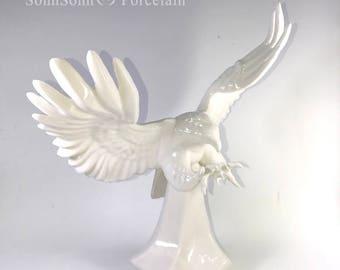 Porcelain Eagle Figurine No.2