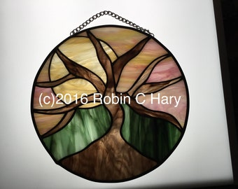 Tree of Life in Stained Glass
