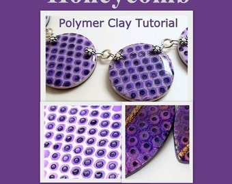 Honeycomb or Snake Texture - Polymer Clay Tutorial