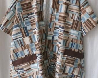 abstract ruana wrap---MC120114