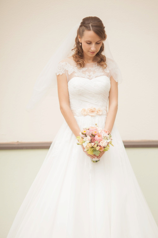 Braut Schärpe Pfirsich Schärpe Apricot Hochzeit Gürtel