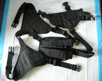 Shoulder Holster with Double Magazine Holder
