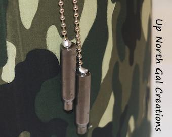 Ammo Pull Chains, 223 Light Pulls, Fan Pulls,Car Accessories,Bullet Pulls,Hunter Gifts, Man Cave, Den Decor, Camp Decor,Cabin Lights, Yooper