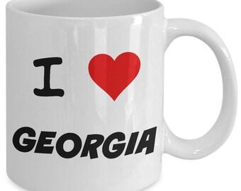 I Love Georgia - Coffee/Tea Mug