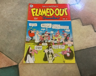 Flamed Out Funnies Wille Murphy no 2 1975
