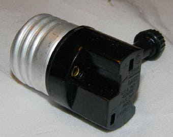 Brand New On / Off Lamp Switch, ,Lamp Repair, Vintage Lamp Parts