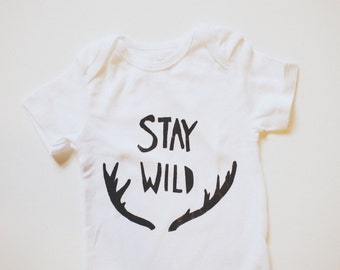 Baby Bodysuit- Stay Wild