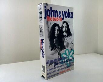 John & Yoko : The Bed In (1990) VHS