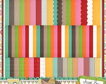 On Sale 50% Off Fiesta Extra Papers for Digital Scrapbooking