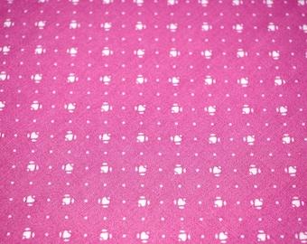 Designer Wamsutta OTC Vintage Cotton Dusty Rose 110 cm x 90 cm