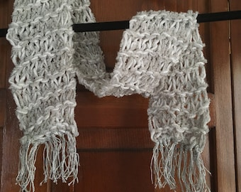 Crochet Accent Scarf