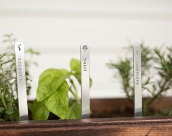 Plant Markers - Garden Marker - Herb Garden - Plant Lady Gift - Garden Decor