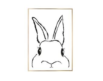 Art Print Bunny