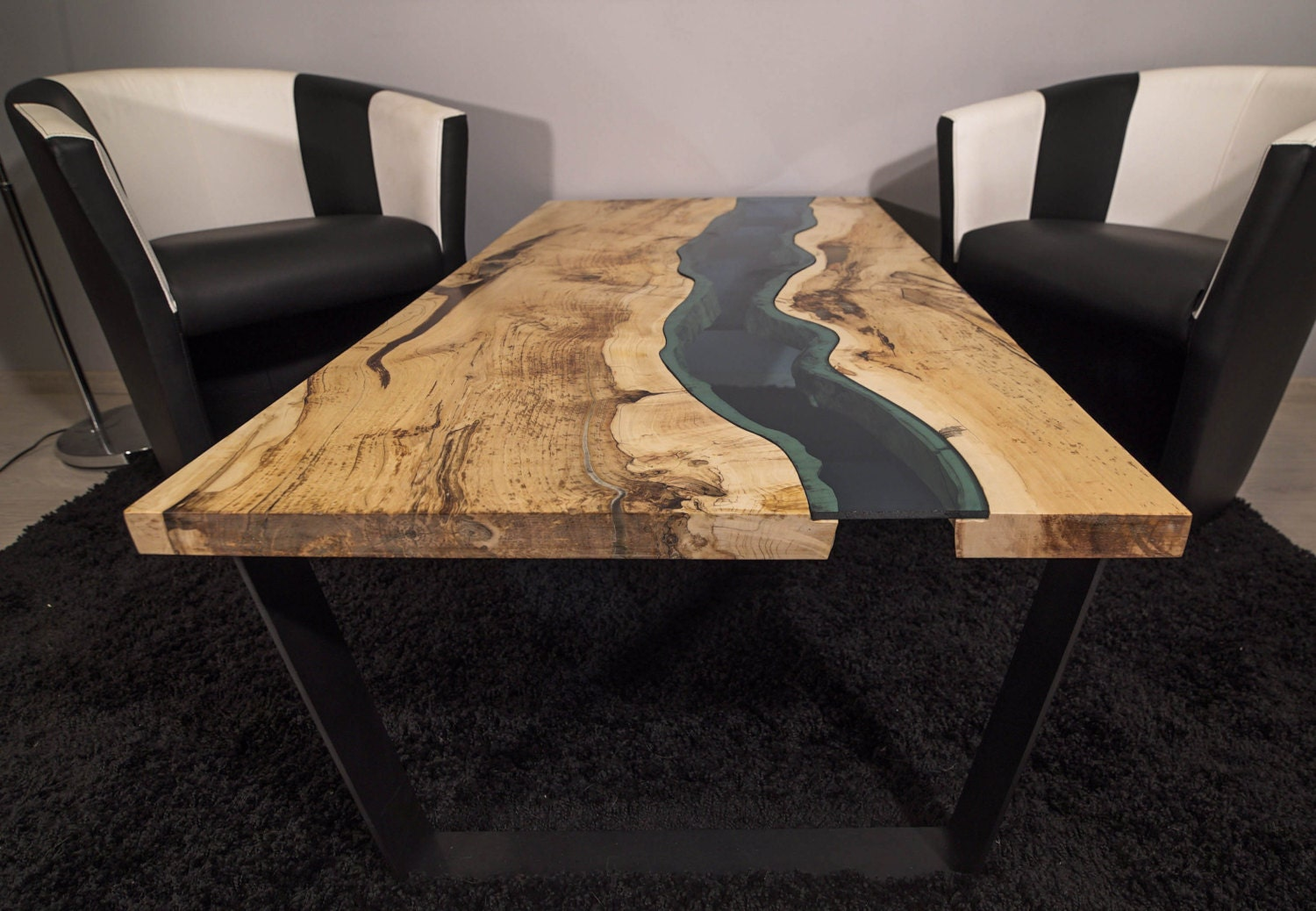 sold live edge river coffee table sold. Black Bedroom Furniture Sets. Home Design Ideas