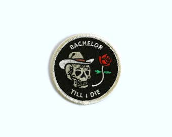 "Hank Williams ""Bachelor Till I Die"" Patch"