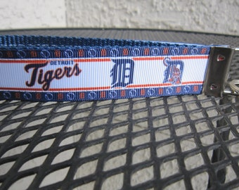 Detroit Tigers inspired Keychain Wristlet