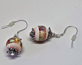 Dangle earrings vintage beads