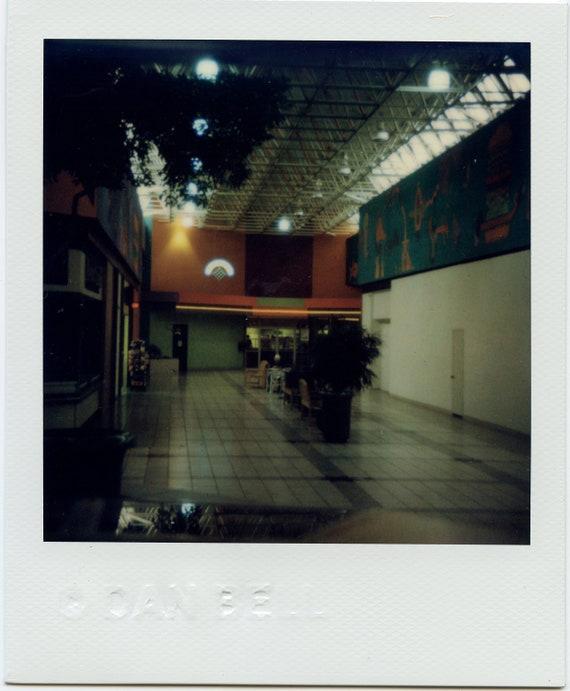 Empty Food Court