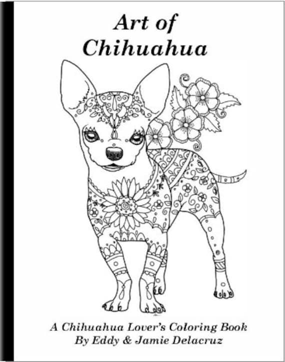 chihuahua coloring pages online - photo#10