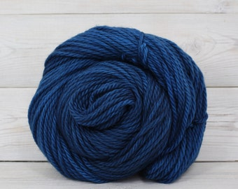 Apollo - Hand Dyed Bulky Superwash Washable Merino Wool Bulky Chunky Yarn - Colorway: Marine