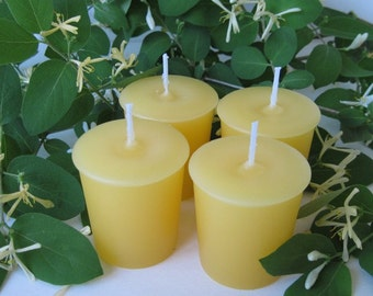 HONEYSUCKLE JASMINE (4 votives or 4-oz soy jar candle)