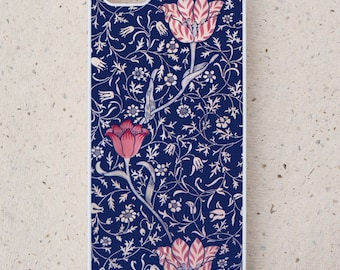 iPhone Cover(all models) - smartphone - Mobile - William Morris - Illustration -Tulips - Samsung Galaxy S3 S4 S5 S6 S7 S8  & more