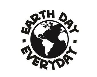 Earth day  Vinyl sticker